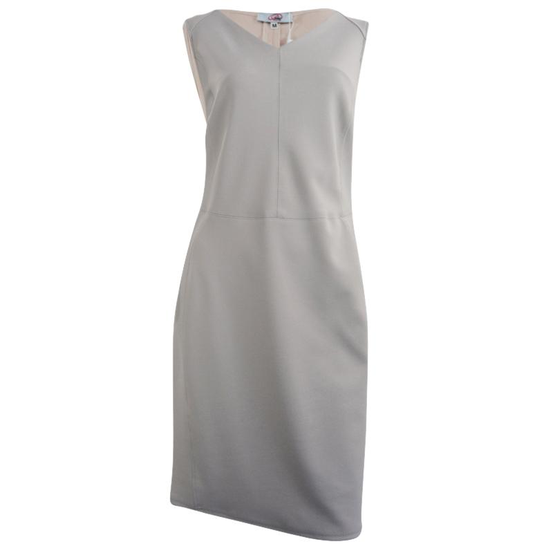 kjole grå