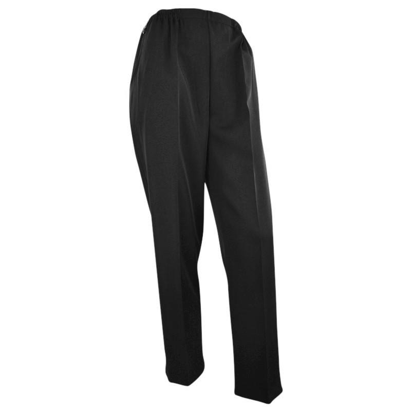 hvide bukser med elastik i taljen